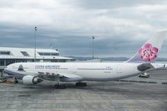 Airbus um 330-300 China Airlines Imagem de Stock Royalty Free