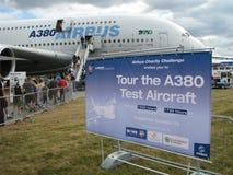 Airbus uns 380 Fotografia de Stock