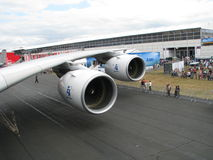 Airbus uns 380 Fotografia de Stock Royalty Free