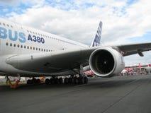 Airbus uns 380 Foto de Stock
