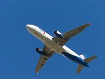 Airbus A320-214 Ural Airlines voa Fotografia de Stock