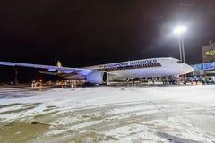 Airbus A350-900 9V-SMF Singapore Airlines Foto de Stock