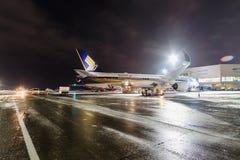 Airbus A350-900 9V-SMF Singapore Airlines Imagem de Stock Royalty Free