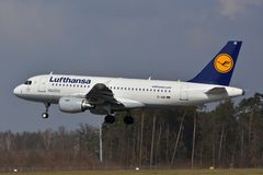 Airbus A319-114 Royalty Free Stock Photo
