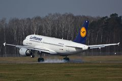 Airbus A319-114 Stock Image