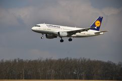 Airbus A319-114 Stock Images
