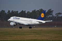Airbus A319-114 Royalty Free Stock Image