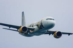 Airbus 320 Vueling Fotografía de archivo libre de regalías