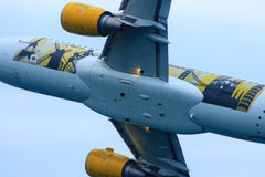 Airbus 320 Vueling Imagem de Stock Royalty Free