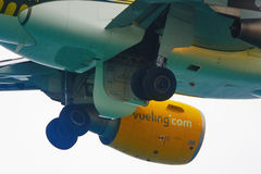 Airbus 320 Vueling Lizenzfreies Stockbild