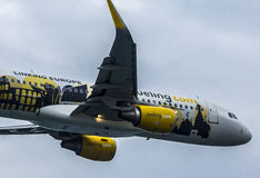 Airbus 320 Vueling Photos stock