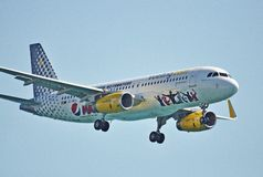 Airbus 320 Vueling Immagine Stock Libera da Diritti