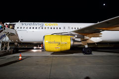 a320 Airbus vueling Obraz Stock