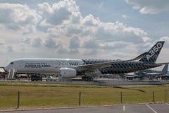 Airbus 350 XWB dois Imagem de Stock