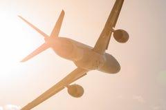 Airbus A350-900 XWB em MAKS Airshow 2015 Imagens de Stock Royalty Free
