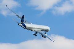 Airbus A350-900 XWB em MAKS Airshow 2015 Fotografia de Stock
