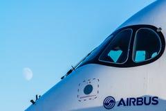 Airbus A350-900 XWB em MAKS Airshow 2015 Foto de Stock