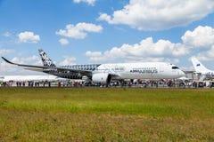 Airbus A 350 - 900 XWB plane Royalty Free Stock Photography