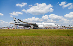 Airbus A 350 - 900 XWB plane Royalty Free Stock Images