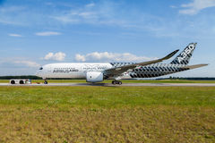 Airbus A 350 - 900 XWB plane Stock Photo
