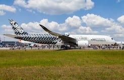 Airbus A 350 - 900 XWB plane Stock Photos