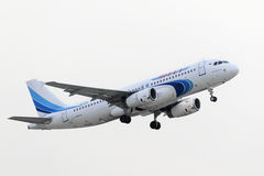 Airbus A320 Yamal Airlines take off Stock Images
