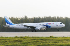 Airbus A320 Yamal Airlines take off Royalty Free Stock Image