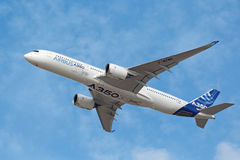 Airbus A350-900 Royalty Free Stock Photography