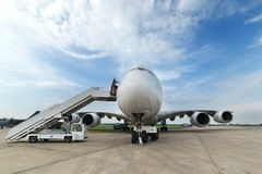 The Airbus A380 Stock Images