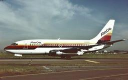 AirCal Boeing B-737-2Q9 NC 21720 LN 522 1º de abril de 1987 Fotos de Stock Royalty Free
