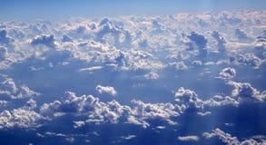 aircarft μπλε όψη ουρανού σύννεφω& Στοκ φωτογραφίες με δικαίωμα ελεύθερης χρήσης