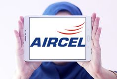 Aircel mobilnego operatora logo Zdjęcie Royalty Free