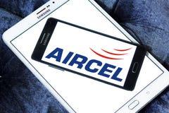 Aircel mobiloperatörlogo Royaltyfri Fotografi