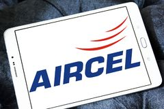 Aircel mobiloperatörlogo Royaltyfri Foto