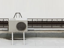 Airconditioner Stock Foto's