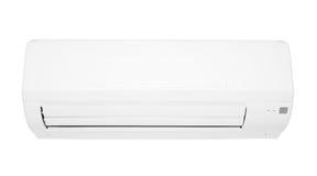 Airconditioner die op witte achtergrond wordt geïsoleerdl Royalty-vrije Stock Afbeeldingen