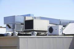 Airconditioner na dachu Fotografia Stock