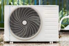 Airconditioner op het dak Stock Afbeeldingen