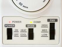 Airconditioner Thermostat Stock Photography