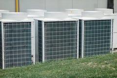 Airconditionereenheid stock foto