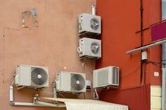 Airconditioners royalty-vrije stock foto