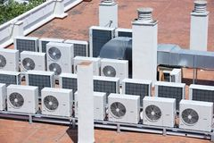 Airconditioning stock afbeelding