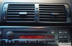 Airconditioning en het systeem van de autoventilatie Stock Afbeeldingen