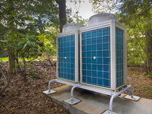 Airconditioning en verwarmingssystemen stock afbeelding