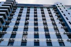 Airconditioning in het gebouw Royalty-vrije Stock Foto's