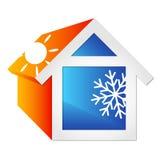 Airconditioning voor huis Royalty-vrije Stock Foto