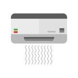 Airconditionings vectorillustratie vector illustratie