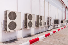 Airconditioningscompressor Royalty-vrije Stock Fotografie
