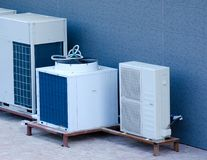 Airconditioningssysteem stock foto