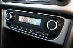 Airconditioningssysteem in een auto Royalty-vrije Stock Foto